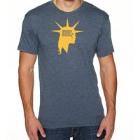 Liberty Head | Men's Tri-blend Shirt