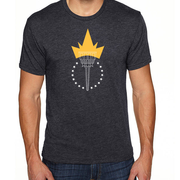 Freedom Torch | Men's Tri-blend Shirt