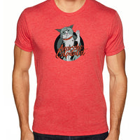 Anarcho-Catpitalist | Men's Tri-blend Shirt