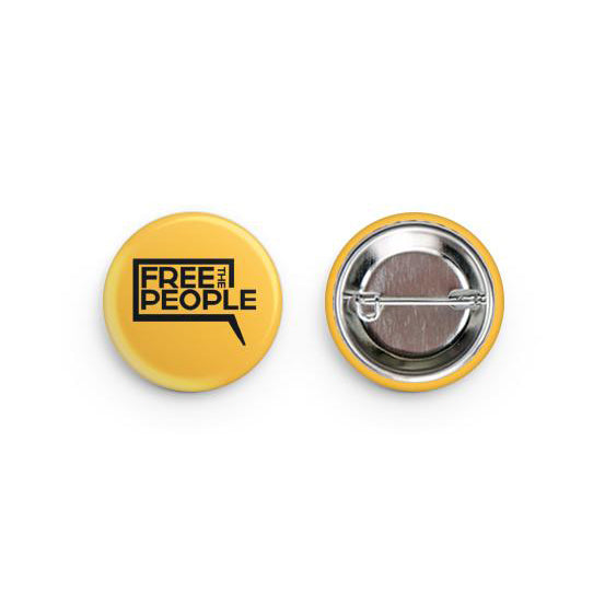 Free the People Pin