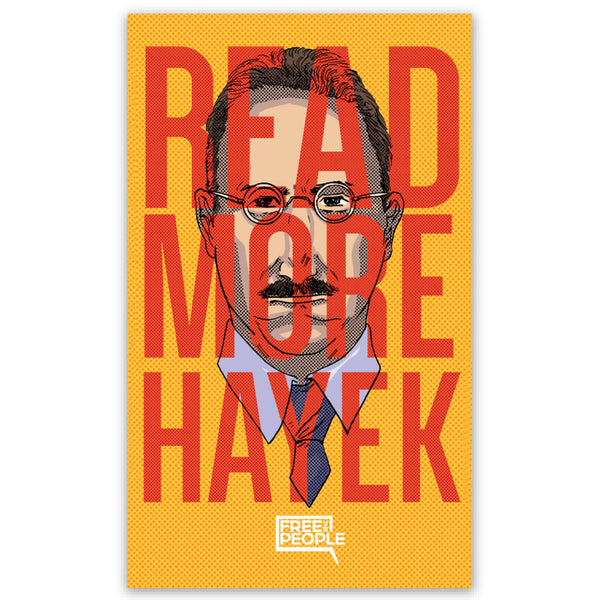 Read More Hayek Sticker