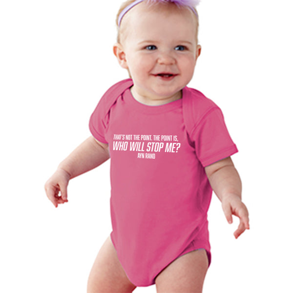 Ayn Rand Quote | Baby Onesie