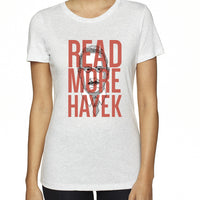 Read More Hayek | Women's Tri-blend Shirt