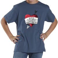 Love, Liberty | Youth Shirt