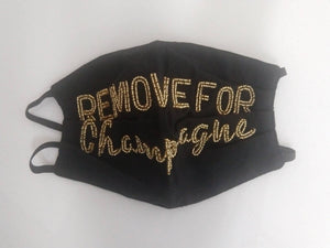Mask Remove For Champagne