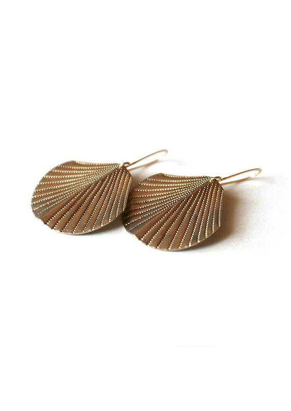 Isobell Designs - Swaying Frond Earrings