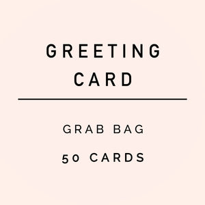 Sweet Water Decor - Greeting Card Grab Bag (50 cards)
