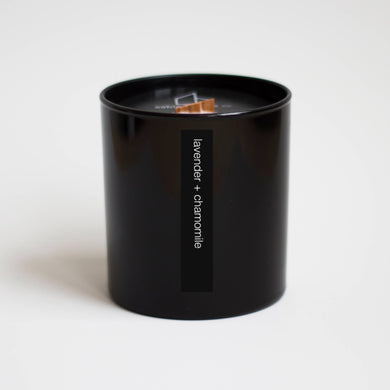 Sable Candle Co - lavender + chamomile tumbler candle