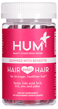 HUM Nutrition Hair Sweet Hair Gummies