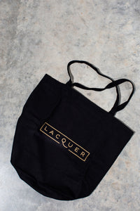 LACQUER Canvas Tote Bag