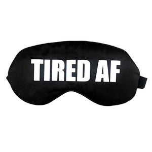 The Sleepy Cottage - Silk Tired AF Sleep Mask