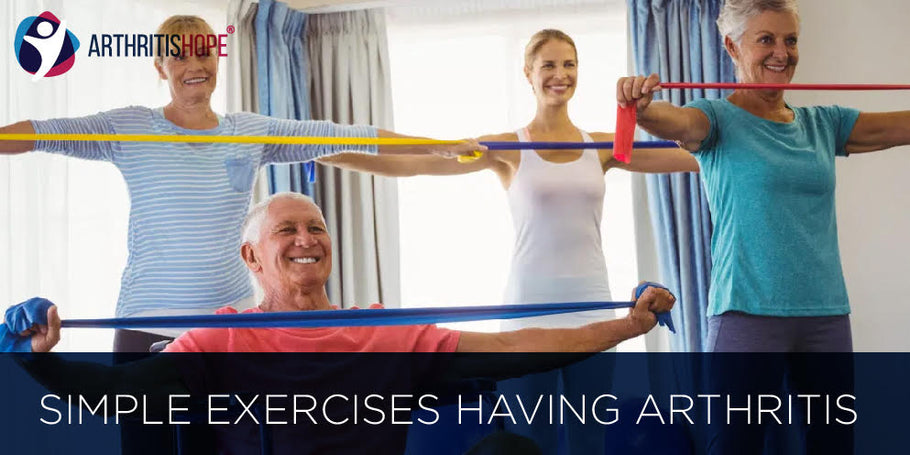 Simple exercises having arthritis