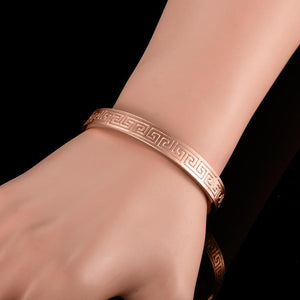 Copper Bracelets Magnetic Bracelets for Arthritis Relief (2pcs)