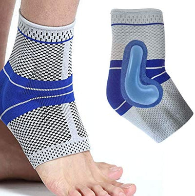 Silicone Ankle Brace Compression Support