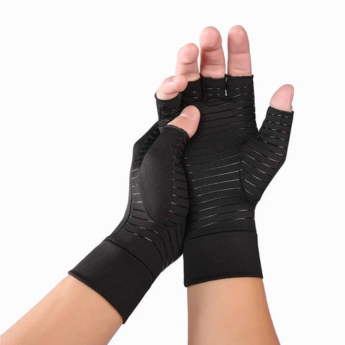 Copper Compression Arthritis Gloves (pair)