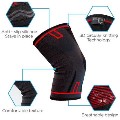 Compression Sleeve for Knee Arthritis 2Pack ($5 OFF Today)