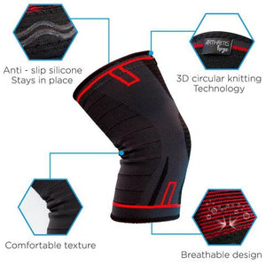 Compression Sleeve for Knee Arthritis 2Pack (10% Discount)