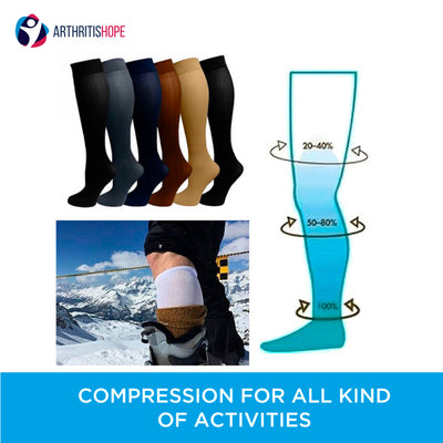 Compression Stockings for Arthritis Pain Relief 15-20 mmHg