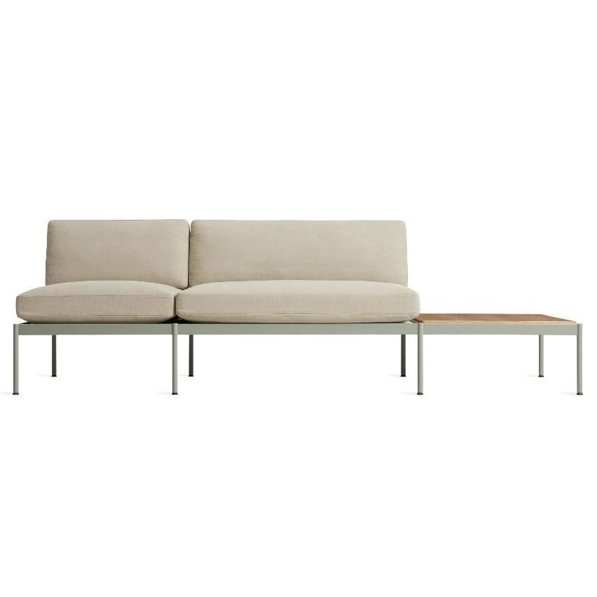 "Chassis 104"" Sofa with Table"