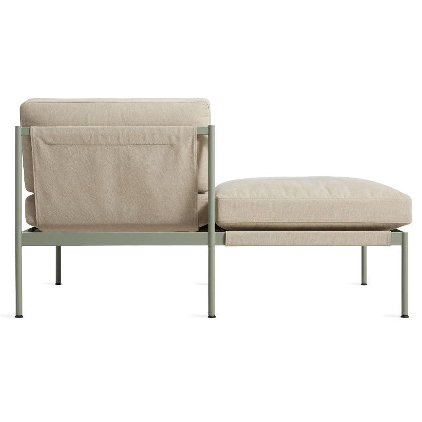 "Chassis 59"" Small Sofa with Cushion"