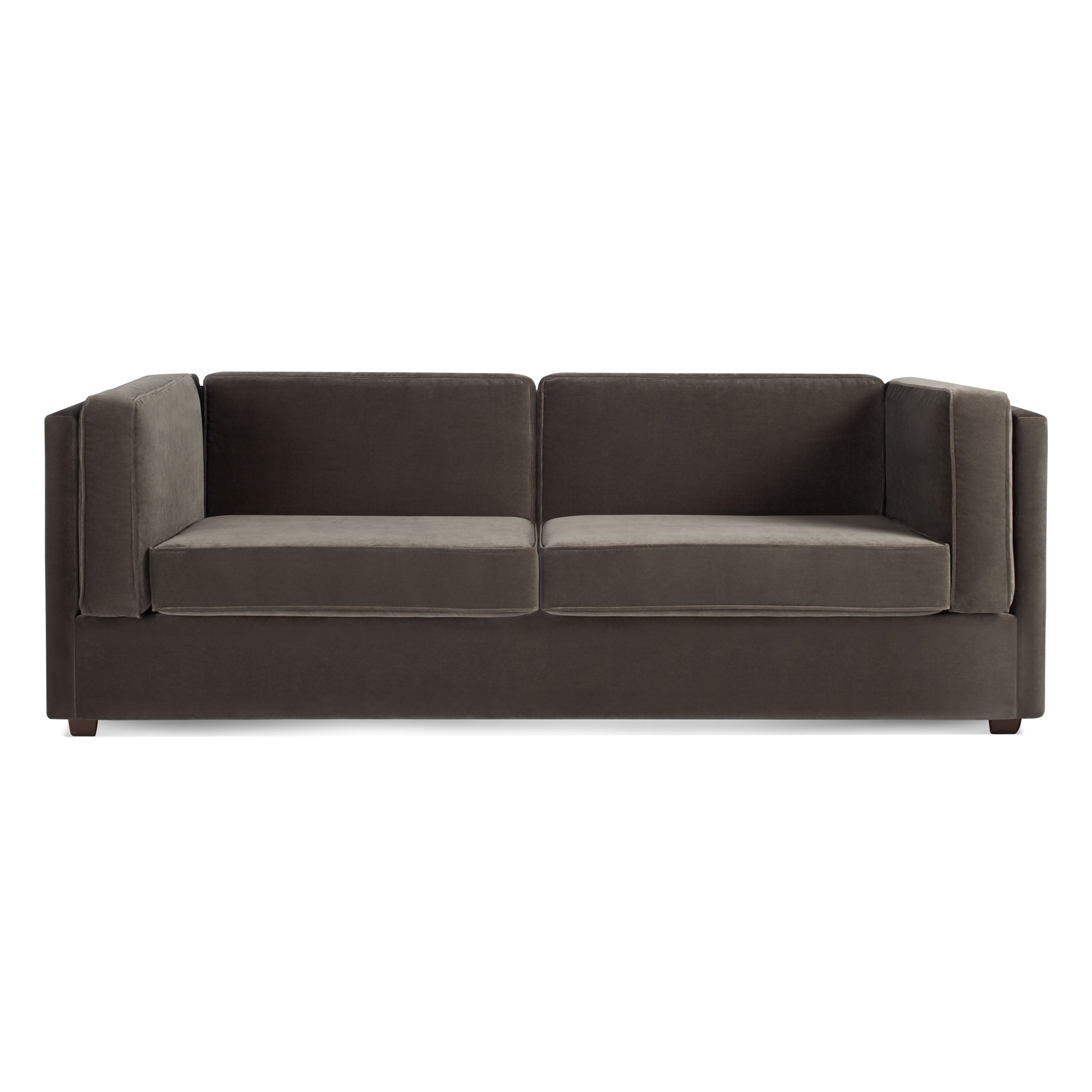 "Bank Velvet 80"" Sleeper Sofa"