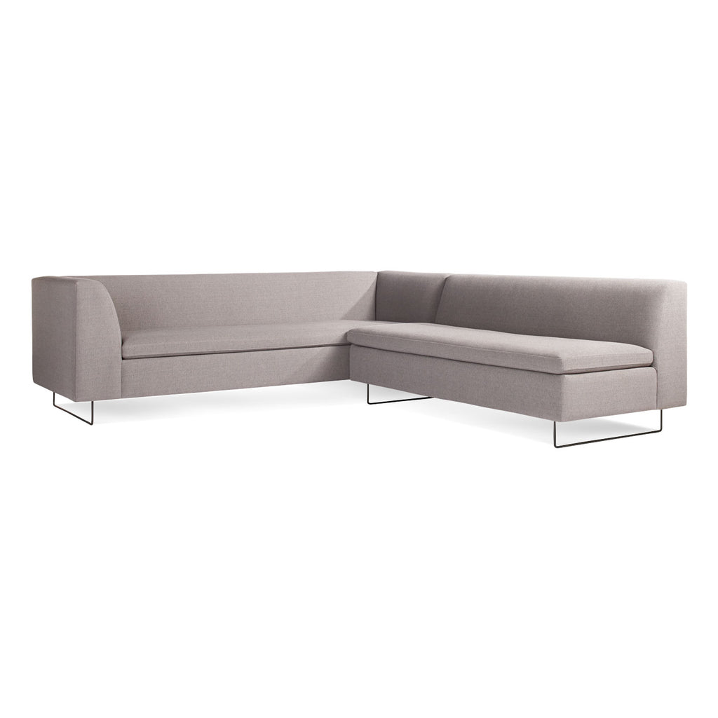 "Bonnie and Clyde 96"" Sectional Sofa"