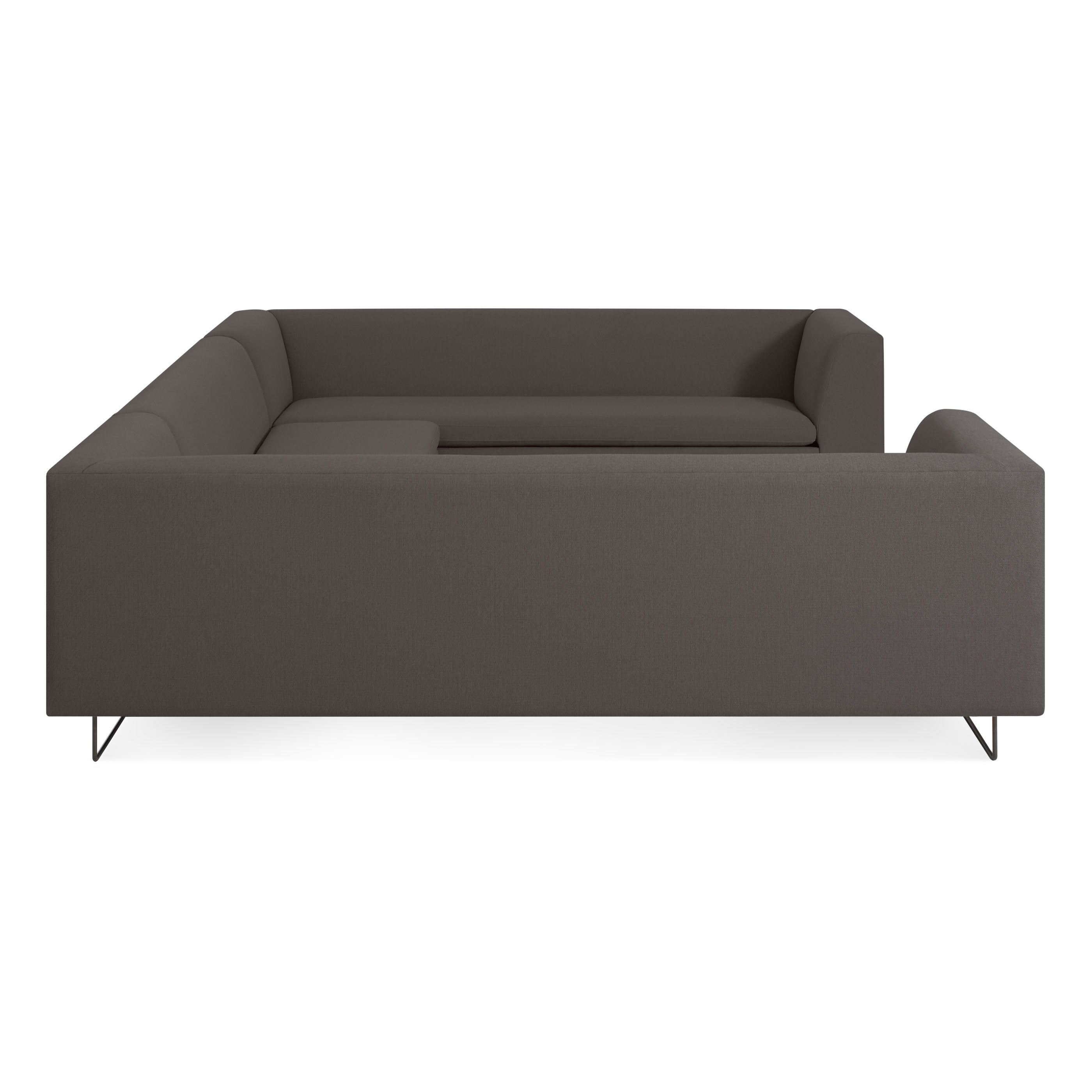 "Bonnie and Clyde 133"" U-Shape Sectional Sofa"