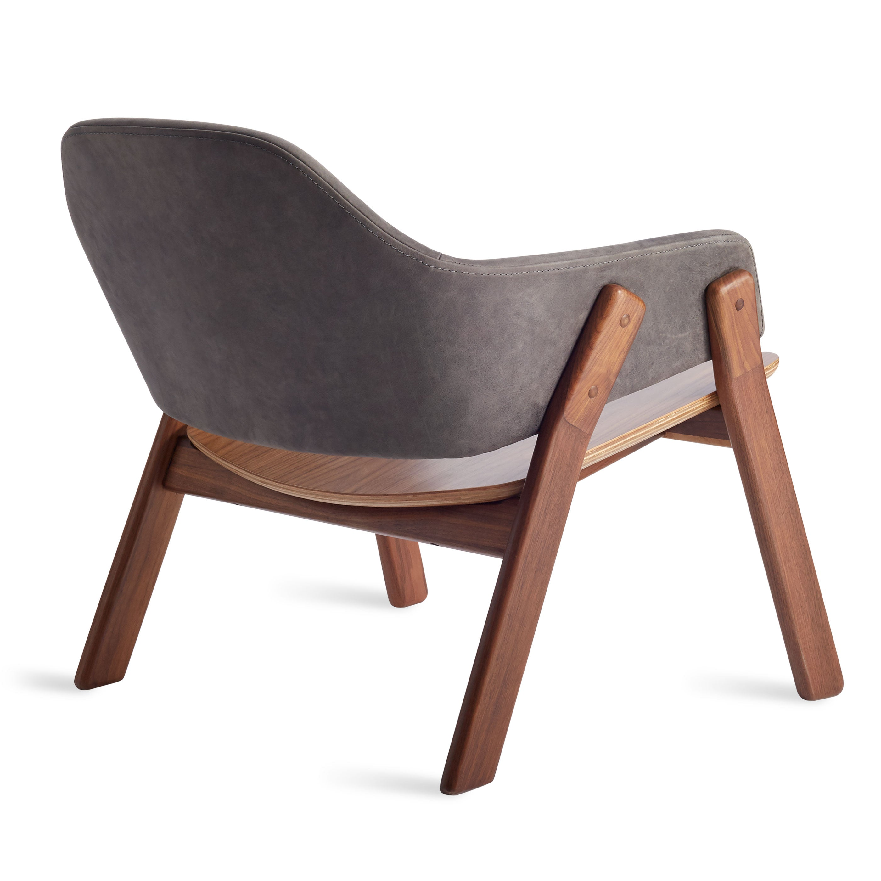 Clutch Lounge Chair Leather