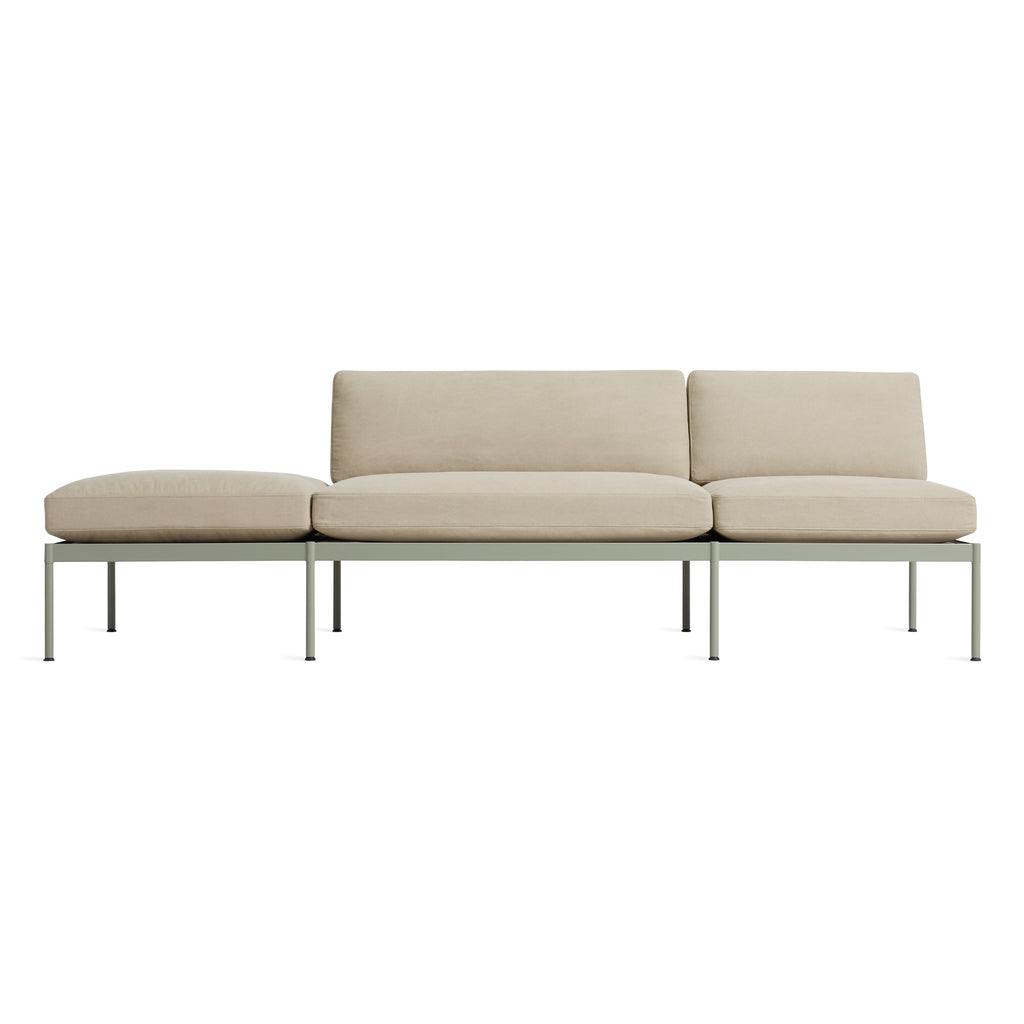 "Chassis 104"" Sofa with Cushion"