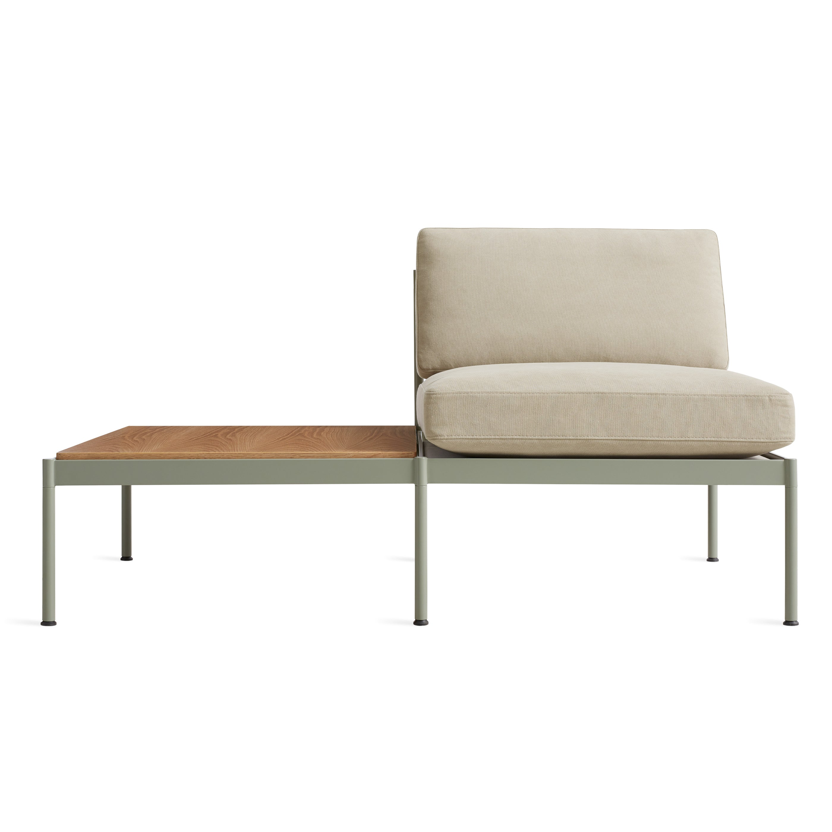 "Chassis 59"" Small Sofa with Table"
