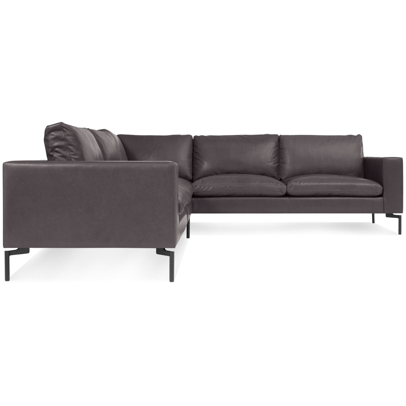 "New Standard 102"" Leather Sofa Sectional"