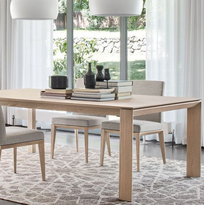 "Omnia 94"" Wood Table"