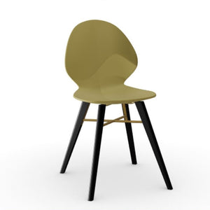 Basil Metal Wood Chair