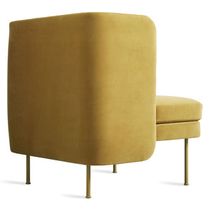 Bloke Velvet Lounge Chair