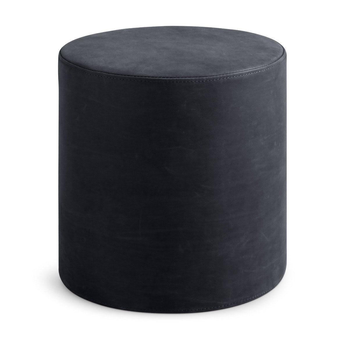 Bumper Small Leather Ottoman