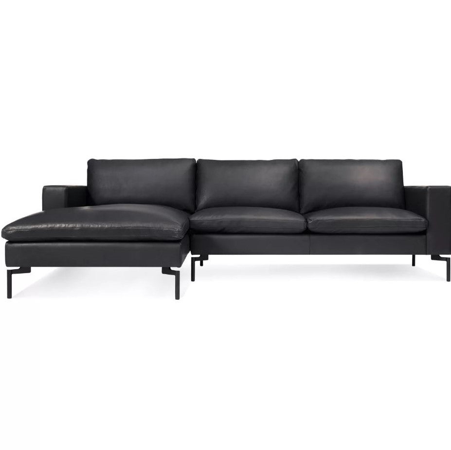 "New Standard 105"" Leather Sofa Sectional"