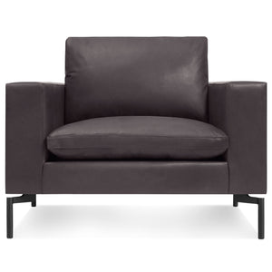 New Standard Leather Lounge Chair