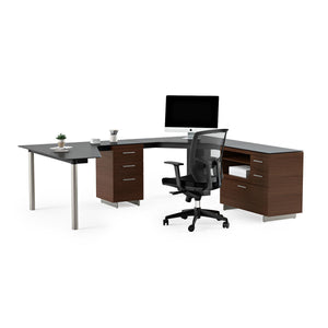Sequel 6018L 6018R Desk Peninsula