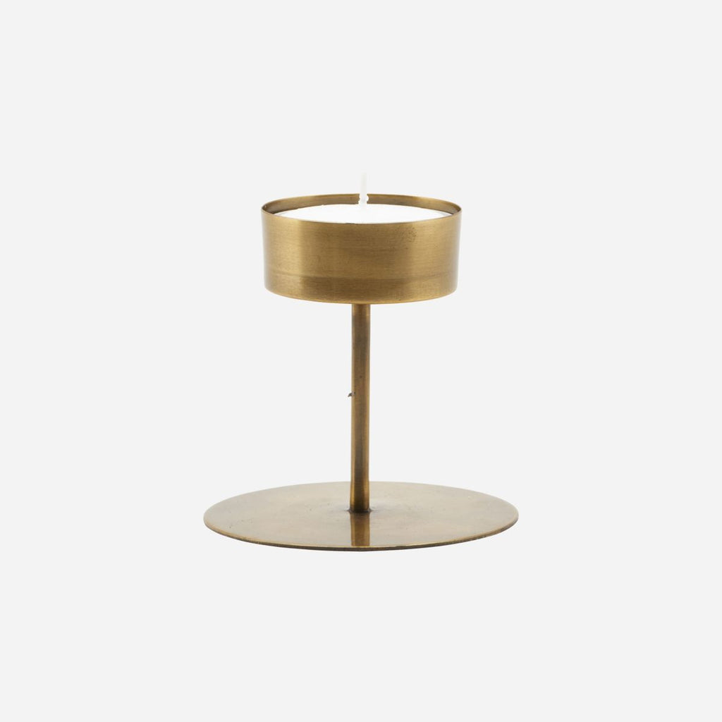 """ANIT"" BRASS TEA LIGHT STAND - BY HOUSE DOCTOR candle holder House Doctor"