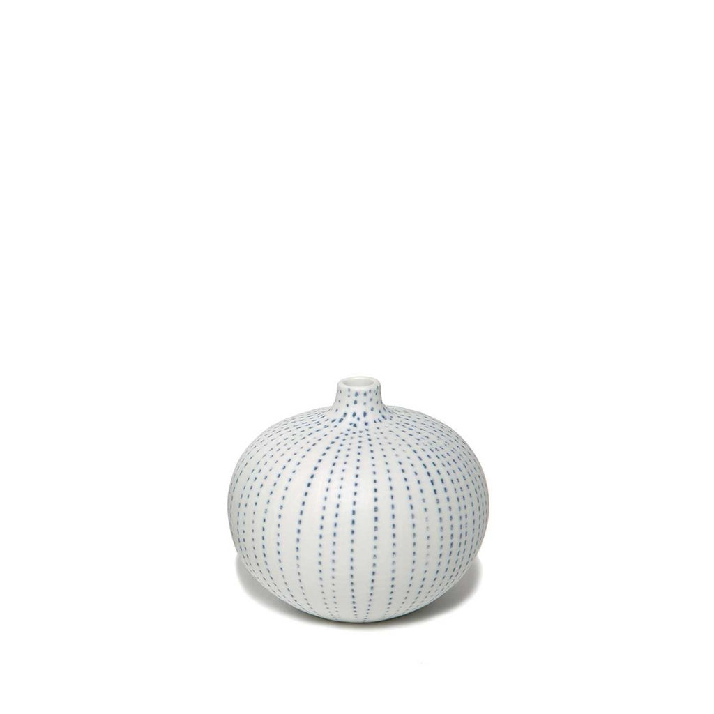"""BARI"" VASE SMALL - BLUE DOTS - BY LINDFORM vase LINDFORM"