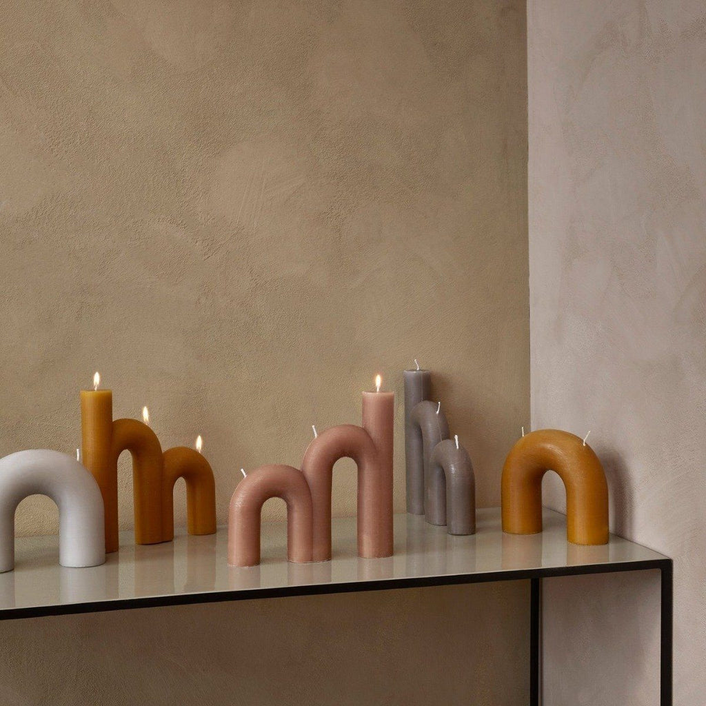 BEND CANDLE - RAINY DAY - BY BROSTE COPENHAGEN CANDLE BROSTE COPENHAGEN
