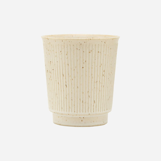 """BERICA"" OATMEAL FINE RIBBED MUG - BY HOUSE DOCTOR cup HOUSE DOCTOR"
