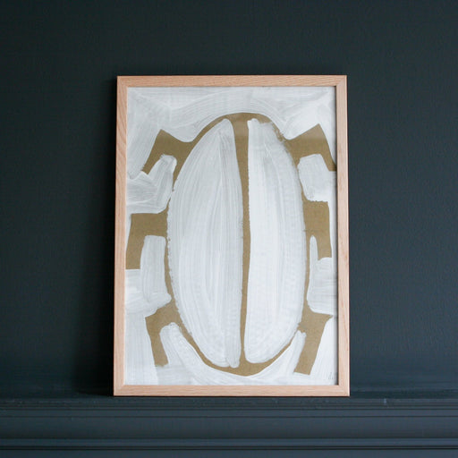 BUG ART print I am Nomad