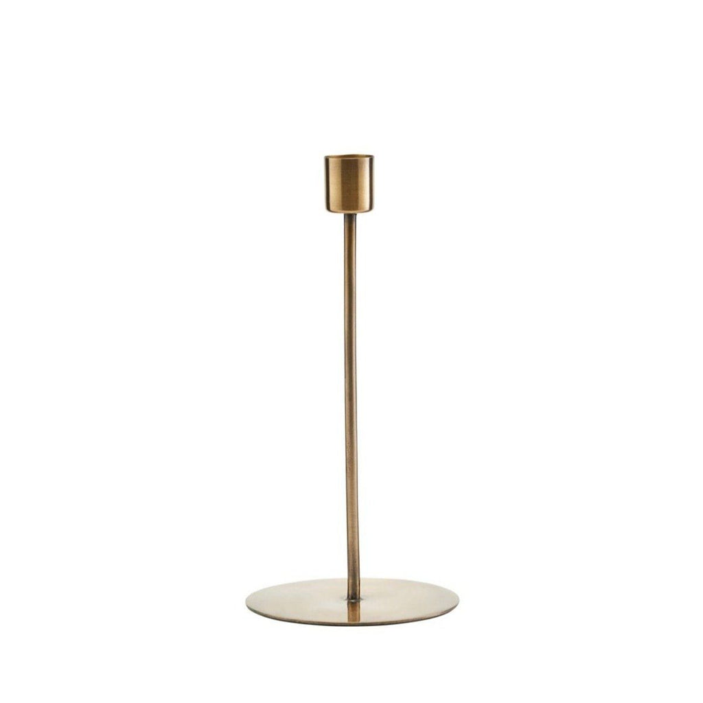 Candle stand Anit | Large Brass HOUSE DOCTOR