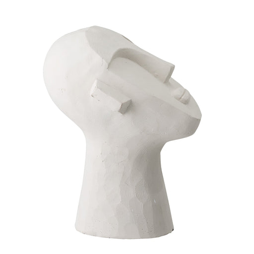 DECORATIVE CEMENT HEAD SCULPTURE - BY BLOOMINGVILLE sculpture BLOOMINGVILLE