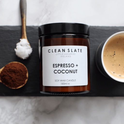 ESPRESSO & COCONUT CANDLE I am Nomad