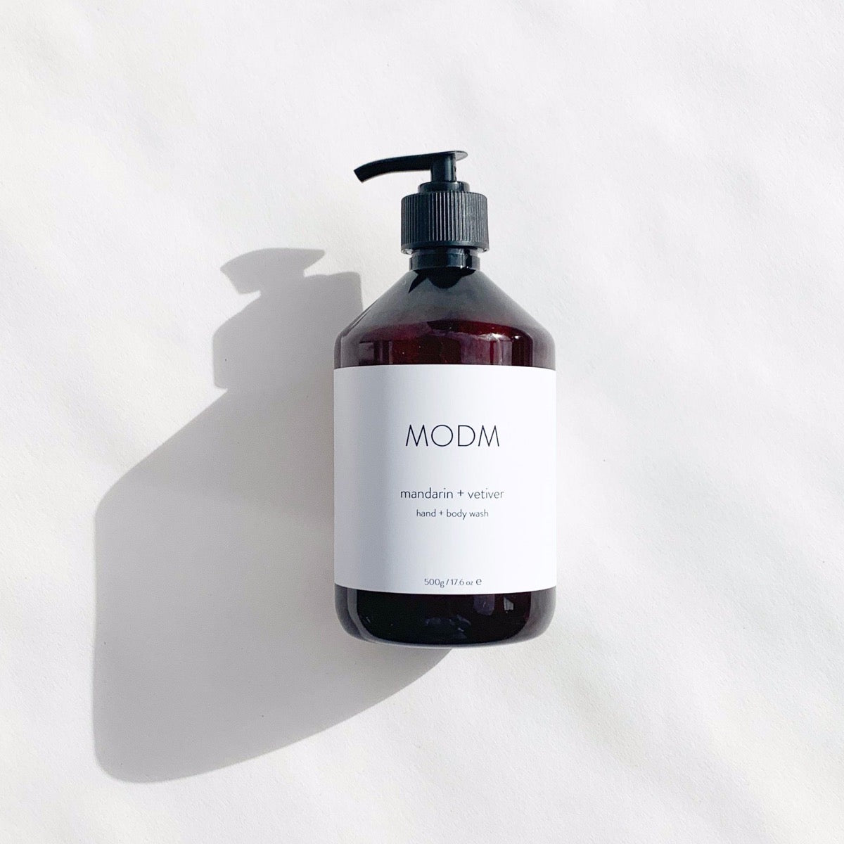 HAND/BODY WASH (MANDARIN & VETIVER) - MODM beauty MODM