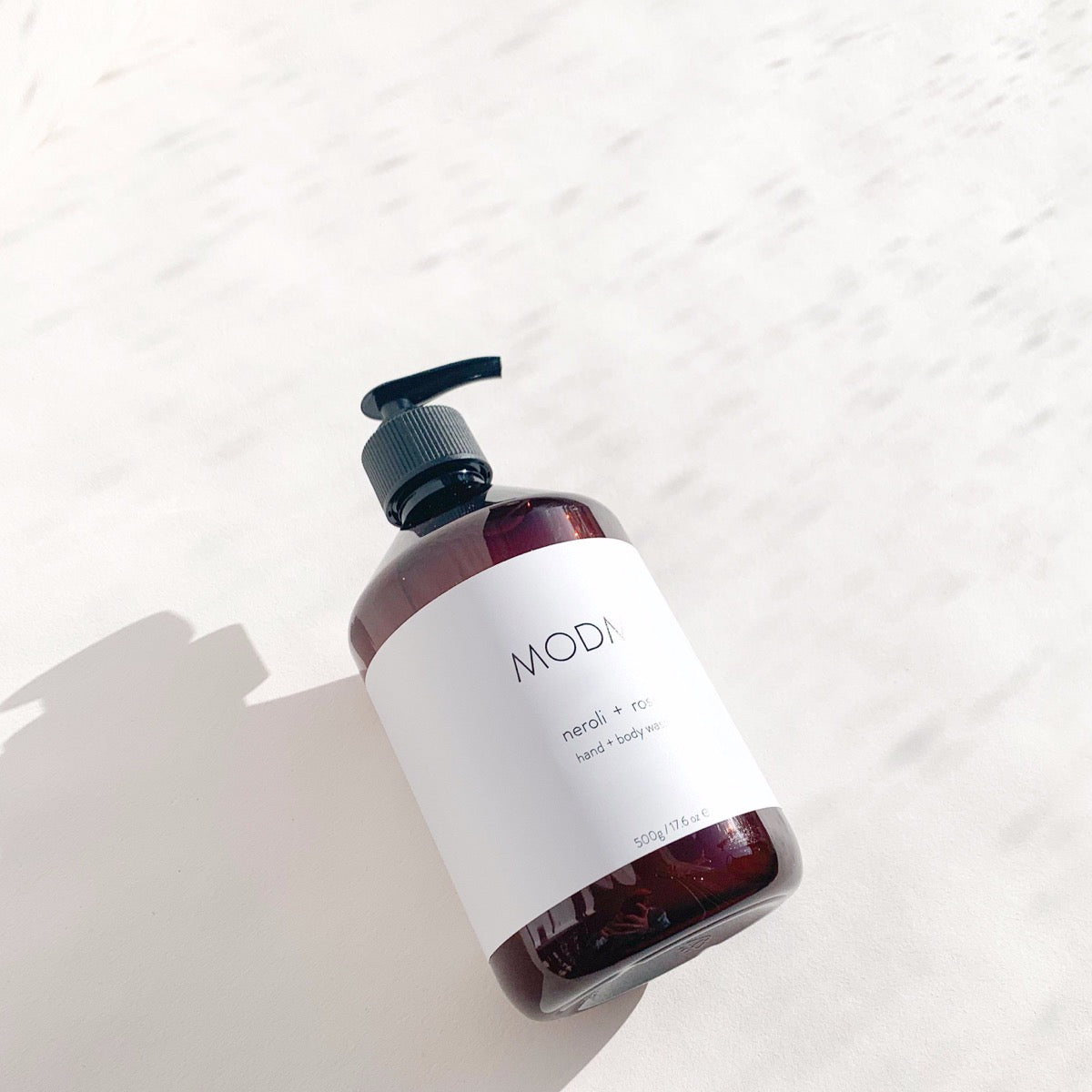 HAND/BODY WASH (NEROLI & ROSE) - MODM beauty MODM