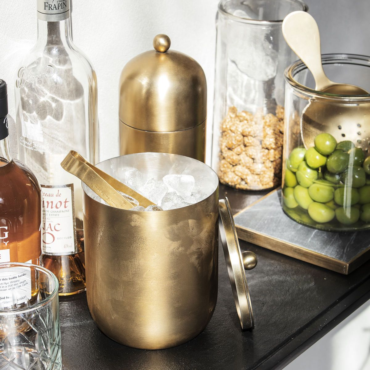 ICE BUCKET - BRASS ice bucket I am Nomad