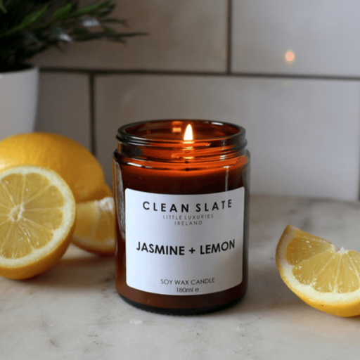 JASMINE & LEMON CANDLE I am Nomad